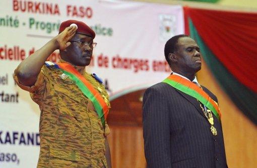 Militär in Burkina Faso nimmt Präsident und Regierungschef fest