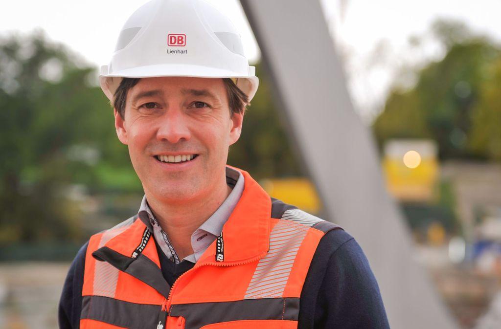 In den Verantwortungsbereich von Christoph Lienhart fallen der Bau der Tunnel vom Hauptbahnhof nach Feuerbach und Bad Cannstatt sowie die neue Neckarbrücke. Foto: Lichtgut/Max Kovalenko
