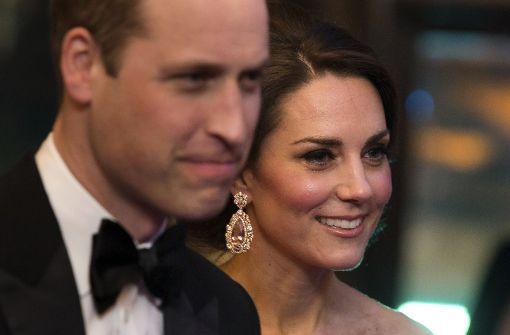 Kate und William ziehen alle Blicke auf sich