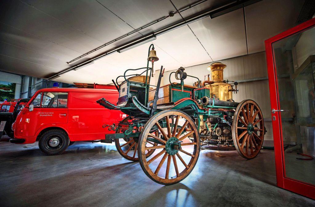 Die Schätze des Feuerwehrmuseums sind natürlich auch zu sehen. Foto: