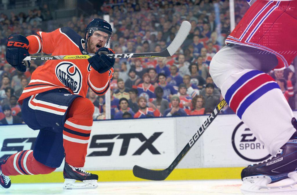 Connor McDavid, Teamkollege von Leon Draisaitl bei den Edmonton Oilers, gehört zu den NHL-Superstars Foto: EA Sports/EA Sports