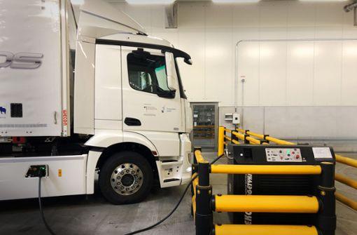 Wie auch Lastwagen emissionsfrei werden sollen