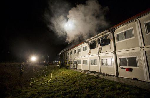 Acht Jahre Haft für Feuer in Asylunterkunft