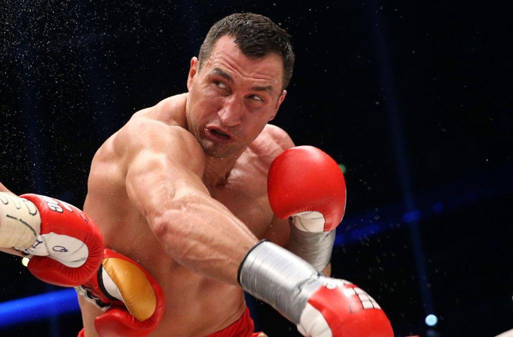 Boxt Wladimir Klitschko noch einmal? Er muss sich schnell entscheiden. Foto: dpa
