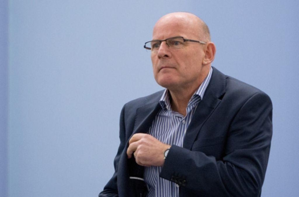 Verkehrsminister Winfried Hermann (Grüne). Foto: dpa