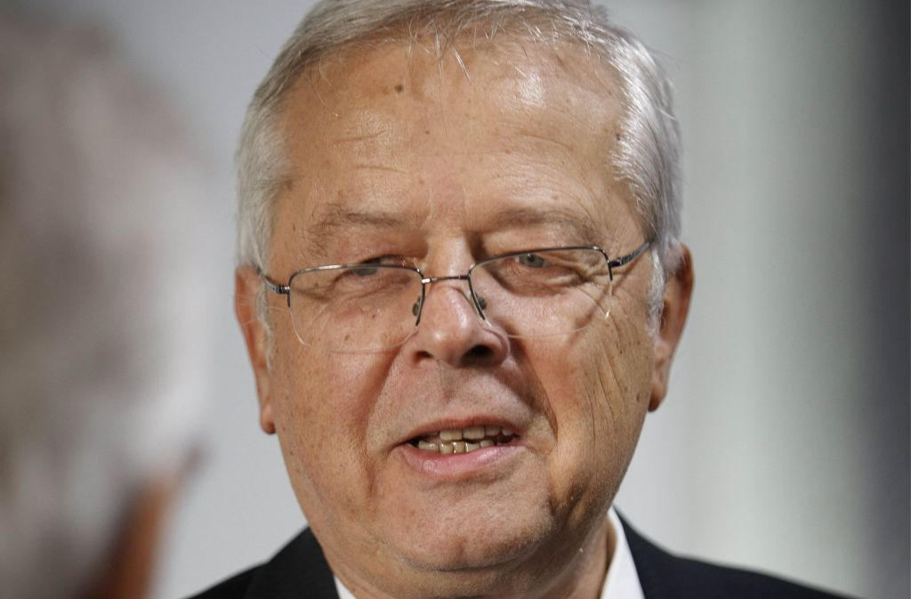 """Ein """"Glücksfall"""" sagt der Paulinenpflege ade: Thomas Weinmann. Foto: Gottfried Stoppel"""