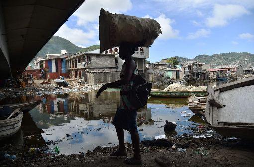 Hurrikan Irma erreicht die Karibik