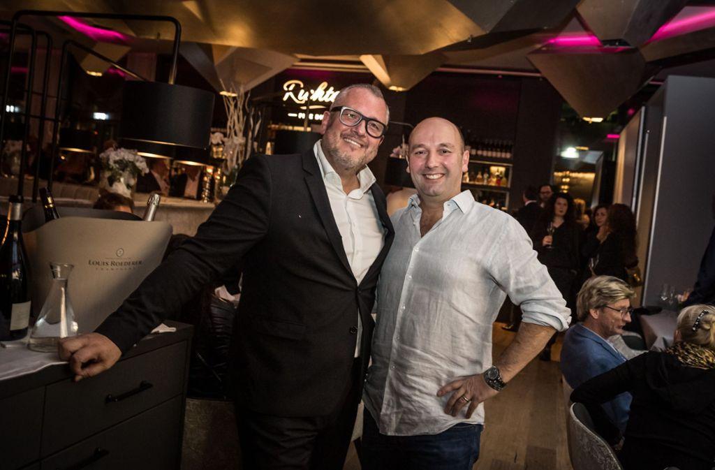 Patron René Richter (links) und Investor Harald Panzer Foto: Lichtgut/Julian Rettig