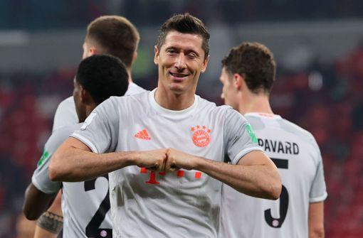 Lewandowski schießt Bayern ins Finale der Klub-WM