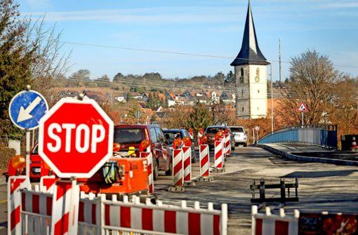 Radwegebau gleicht einem   Hindernislauf