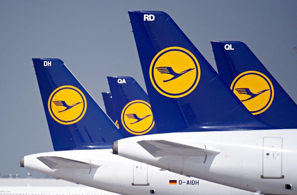 Der Stuttgarter Flughafen ist ebenfalls vom Lufthansa-Streik betroffen. Foto: dpa/Nicolas Armer