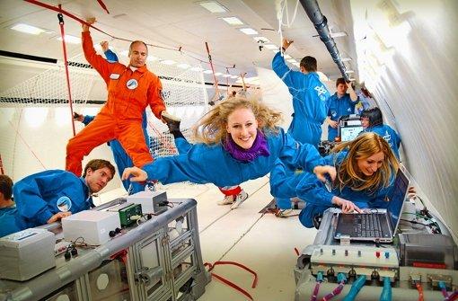 Fast wie auf der Raumstation