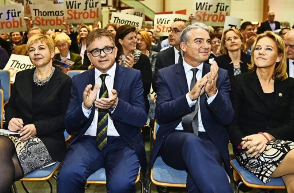 Unruhe an der Spitze der Südwest-CDU: Guido Wolf (links) und Thomas Strobl Foto: dpa