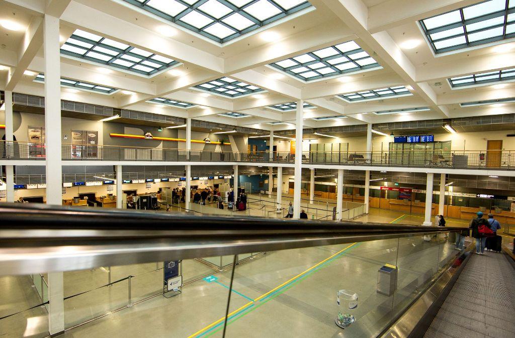 Bald Vergangenheit: Das Termin 4 am Stuttgarter Flughafen wird abgerissen. Foto: Lichtgut/Leif Piechowski