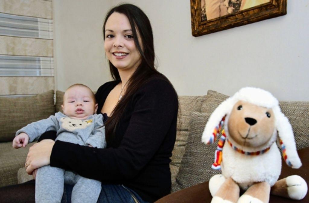 Andreia Ristic mit Sohn Luis. Foto: FACTUM-WEISE