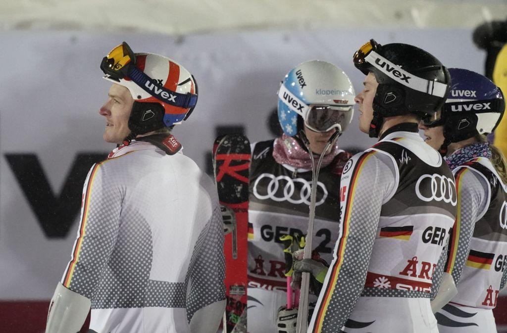 Deutschland hat bei der Ski-WM einfach kein Glück. Schon wieder gibt es nach einer starken Leistung keine Medaille. Foto: dpa
