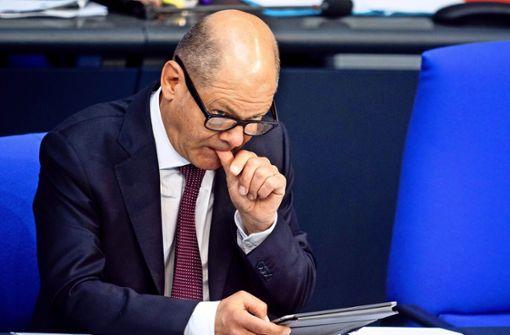 Olaf Scholz will zurück in den Bundestag