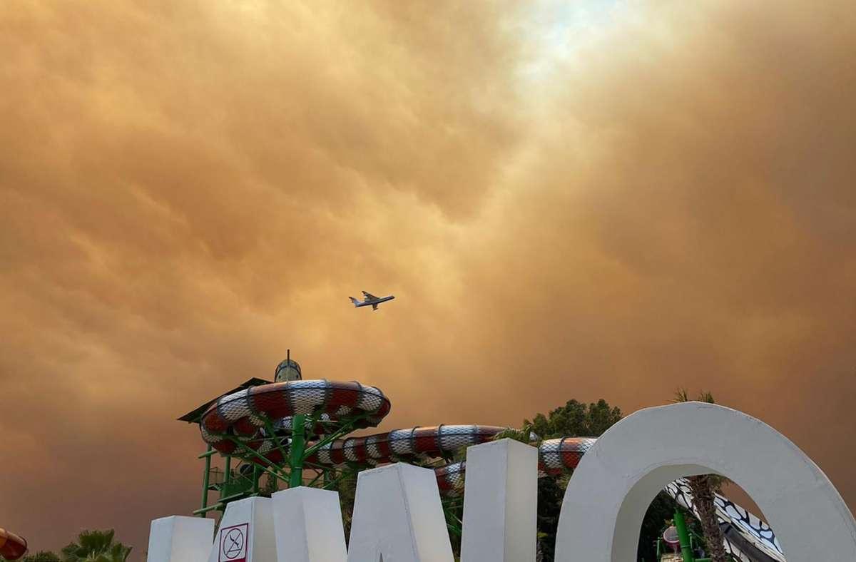 In der Türkei wüten Waldbrände. Foto: dpa/Cevin Dettlaff