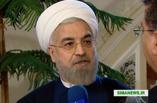 Ruhani sieht die meisten Hindernisse ausgeräumt