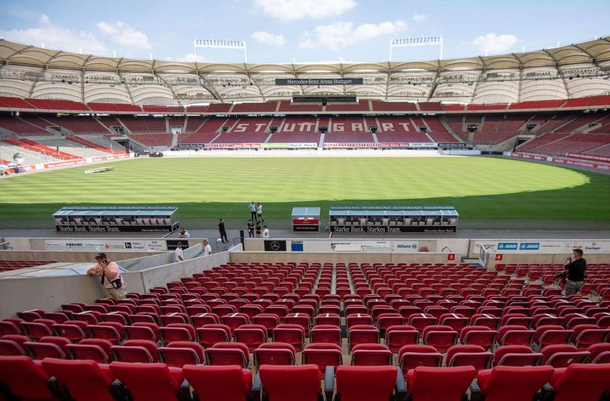 Wann können die Fans zurück in die Stadien? Foto: dpa/Marijan Murat
