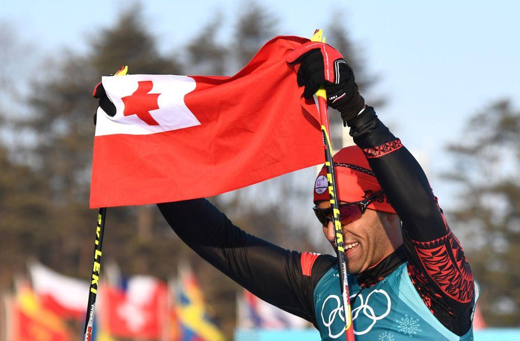 Winter Olympics 2018: Tonga shirtless flag-bearer Pita