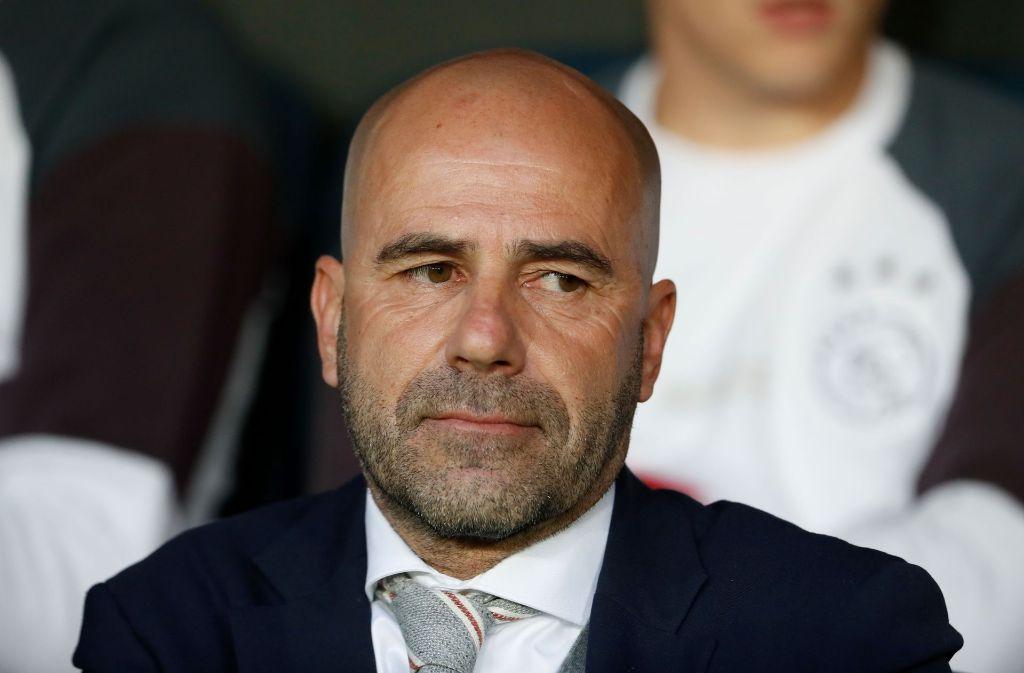 Peter Bosz soll beim BVB für Erfolge sorgen. Foto: AFP