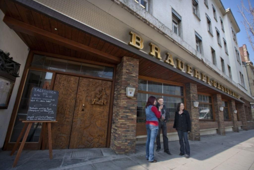 Die Brauereigaststätte soll in neuem Glanz erstrahlen. Foto: Michael Steinert