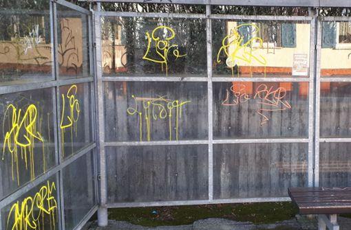 Graffiti: Stadt erstattet Anzeige