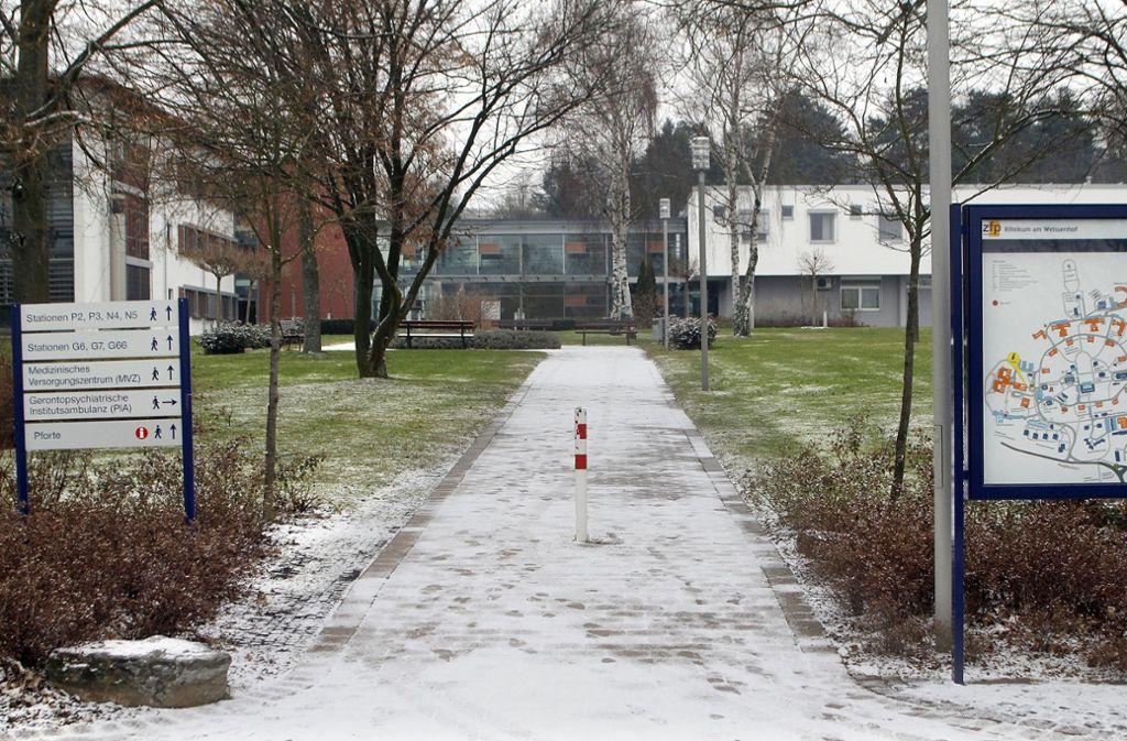 Aus dem Klinikum am Weissenhof in Weinsberg ist ein psychisch kranker Straftäter entkommen. Foto: Factum / Weise