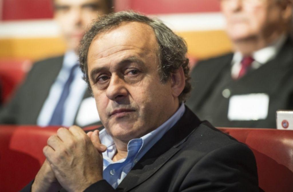 Michel Platini Foto: dpa