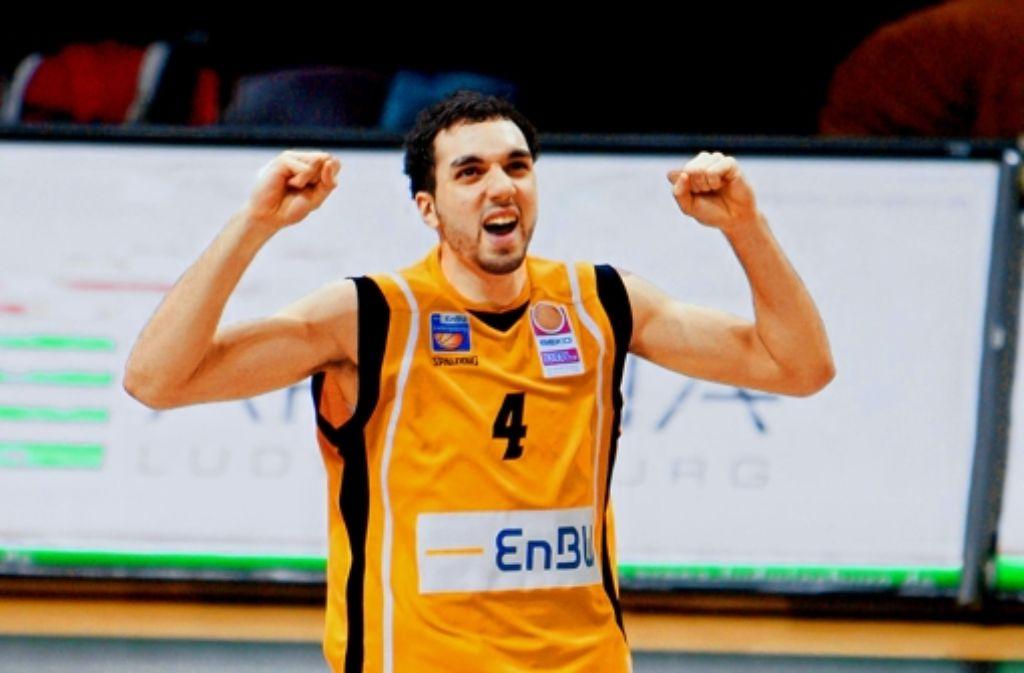 Der Ex-Ludwigsburger Ziyed Chennoufi spielt bei Olympia  für Tunesien. Foto: Baumann