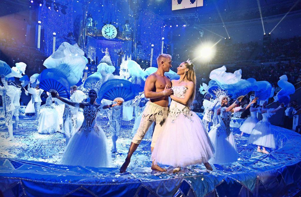 Ballett ist ein fester Bestandteil des Weltweihnachtscircus'. Foto: Weltweihnachtscircus