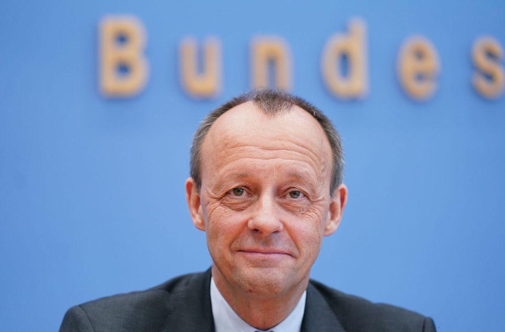 Friedrich Merz kandidiert als Parteivorsitzender der CDU. Die Stimmen aus Baden-Württemberg hat er sicher. Foto: dpa/Kay Nietfeld