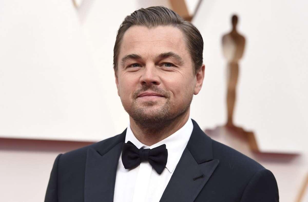 Der Schauspieler Leonardo DiCaprio Foto: dpa/Jordan Strauss