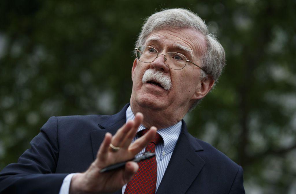 Die nächste Entlassung unter Trump: John Bolton muss gehen. Foto: dpa