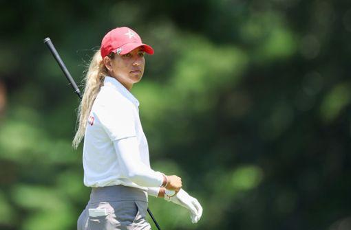 "Golferin Maha Haddioui gelingt ein ""Hole-in-one"""