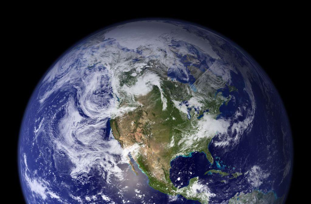 Das Erdklima ist gefährdet. Foto: dpa/NASA Goddard Space Flight Center