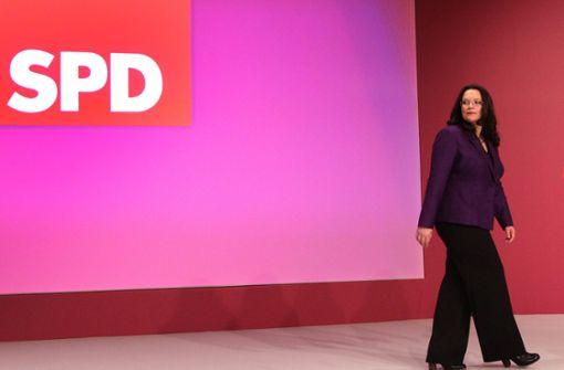 Andrea Nahles kündigt Rücktritt an