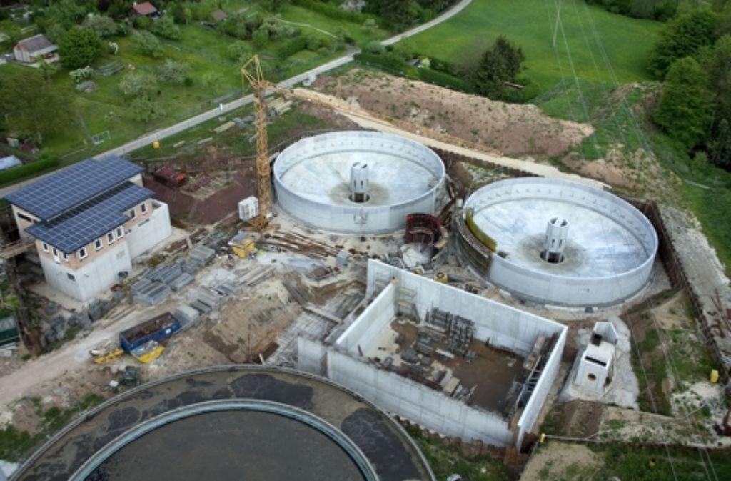 Die Modernisierung der Kläranlage wird durch den Bauverzug teurer. Foto: Horst Rudel