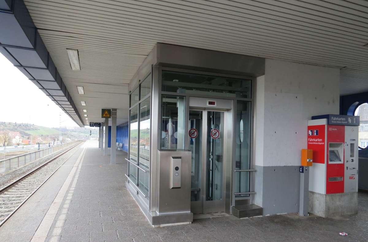 Die neue Aufzugsanlage soll  zuverlässiger sein als ihr Vorgänger. Foto: Bernd Zeyer