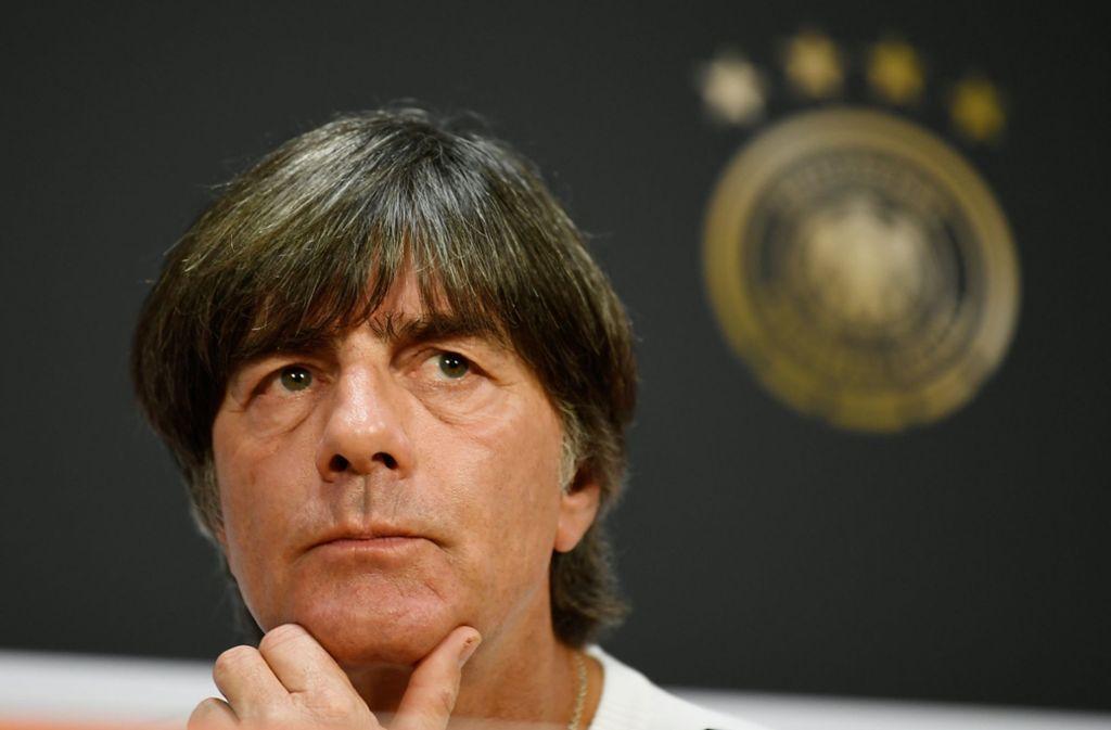 Hört gerne Schlager: Bundestrainer Joachim Löw. Foto: