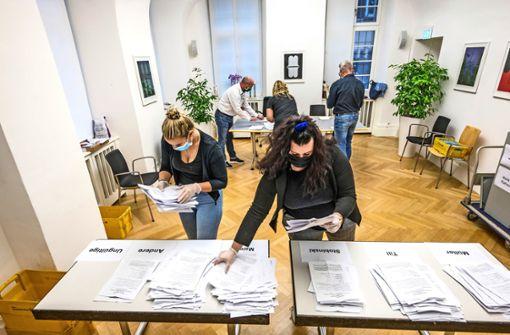 Panne bei  Briefwahl-Unterlagen