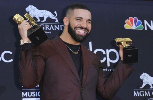 Drake ist meistgehörter Musiker des Jahrzehnts