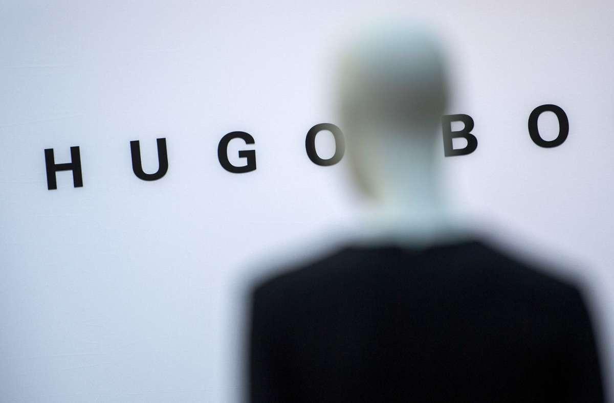 Am Mittwoch hat der Modekonzern Hugo Boss seine Quartalszahlen vorgestellt. (Archivbild) Foto: dpa/Sebastian Gollnow