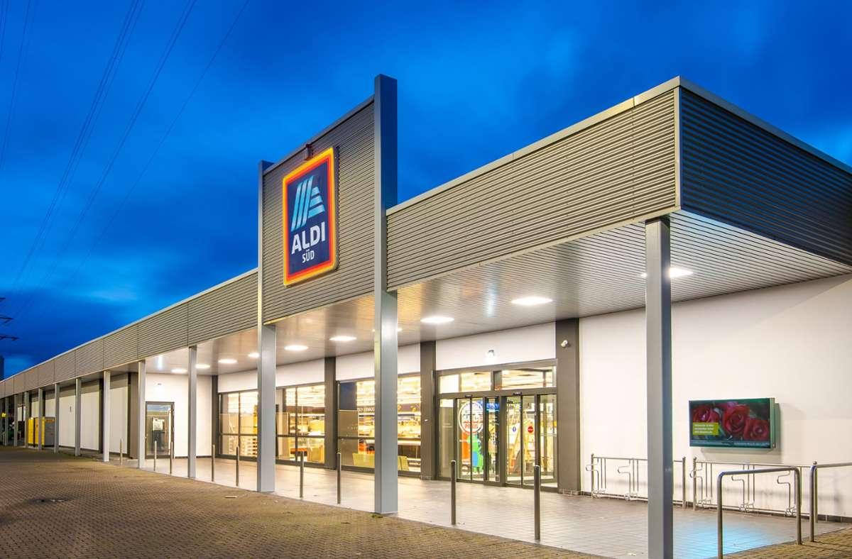 Die Aldi Filiale in Mülheim besitzt eine Verkaufsfläche von fast 2000 Quadratmetern. Foto: ©ALDI SÜD