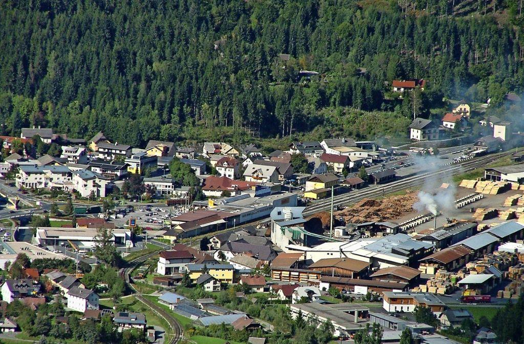 Der Blick auf den malerischen Ort Hermagor – in den die Familie Rau seit Jahrzehnten immer wieder reist. Foto: Statistik Austria