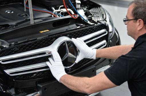 Daimler schwächelt auch im August