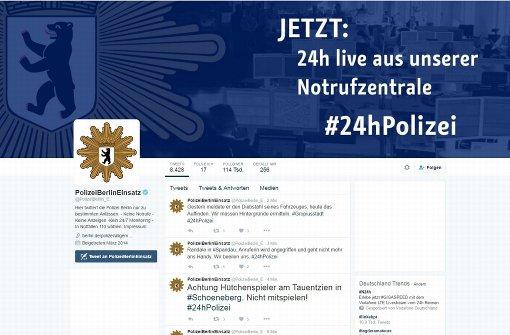 Von skurril bis ernst: Was die Polizei in Berlin alles erlebt