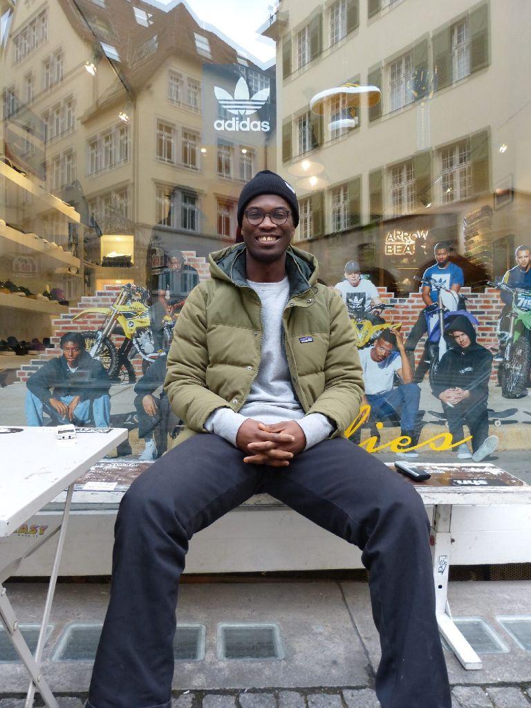 """""""Die Stadt hatte Bedarf für einen Core-Skateshop, ein Ort, an dem sich Skater wohlfühlen und sich mit anderen Skateboardern in der Stadt treffen können, sagt Yaw über die Anfänge des Shops. Foto: Martin Elbert"""