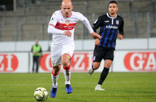 Coach Kienle verteilt Sonderlob an  Ferdinand und Werner